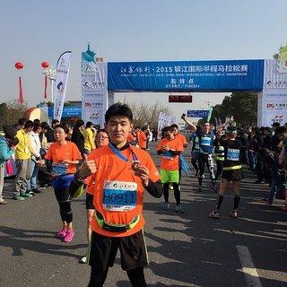 2015镇江国际半程马拉松(2015.12.06)